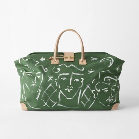 Svenskt_Tenn_Weekend_Bag_Endymion_Hand_Painted_Green_Large_1