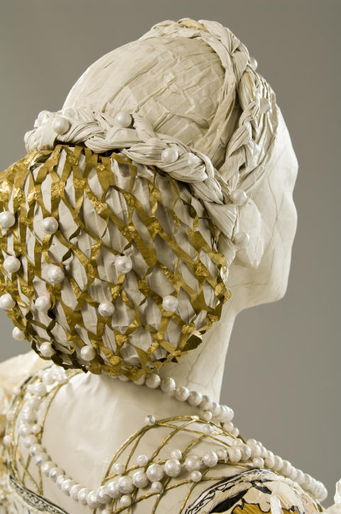 Eleonora av Toledo, detalj av klänning