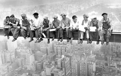 Låt inte din arbetsdag bli den sista i livet - fallskydd räddar.