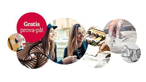 Gratis prova på-dagar på Folkuniversitetet i Stockholm och Södertälje!