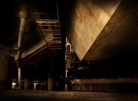 David Molander, Through Bridges Centralbron, 2010, Digital animation, Göteborgs konstmuseum