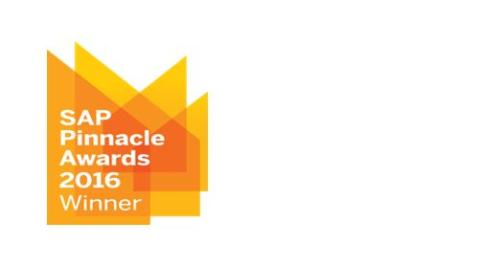 Capgemini vinner 2016 SAP® Pinnacle Award: Customers' Choice - Service
