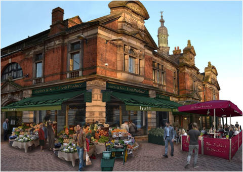 Council Announces Date for Market Hall Reopening