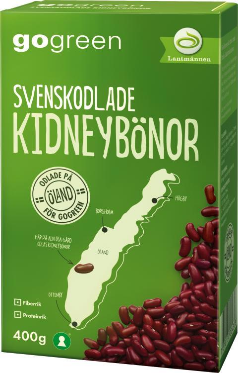 Exotiska bönor odlas nu i södra Sverige