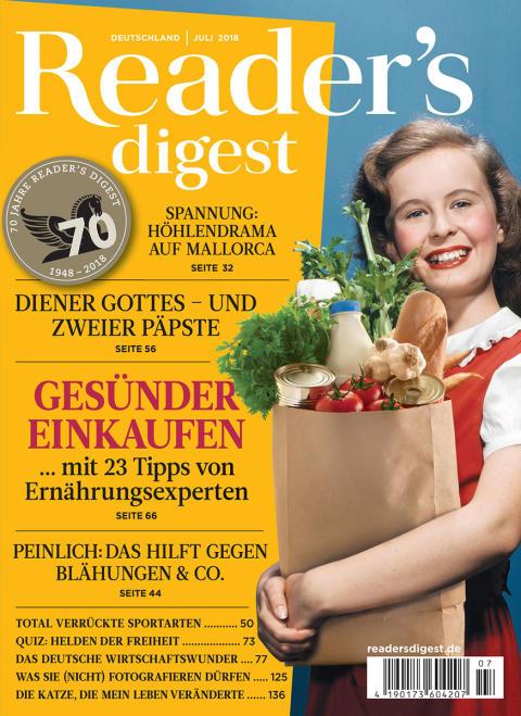 Reader's Digest Juli 2018