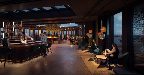 Skanska investerar cirka 1,3 miljarder kronor i kontorshuset Sthlm 01 i Hammarby Sjöstad, Stockholm