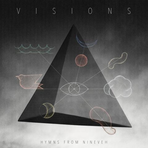"""Hymns from Nineveh afslører releasedate, trackliste og artwork - albummet """"VISIONS"""" ude d. 16. september"""
