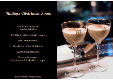 Recept: Baileys Christmas Serve