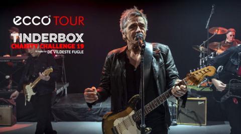Michael Falch, ECCO Tour og Tinderbox samler penge ind til De Vildeste Fugle