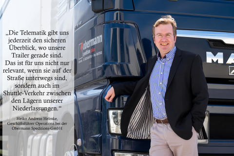 Heiko Andreas Helmke, Obermann Speditions-GmbH