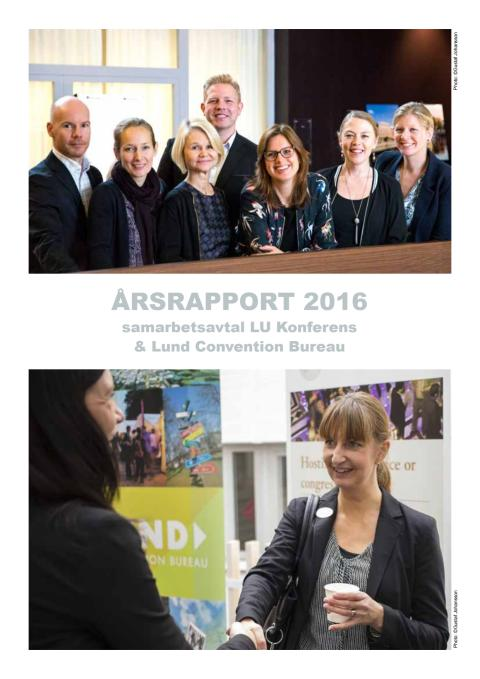 Årsrapport LU Konferens och Lund convention Bureau 2016