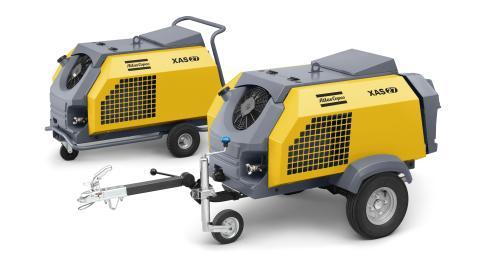 Kompressorer med bensinmotor – mångsidig nyhet från Atlas Copco på MaskinExpo