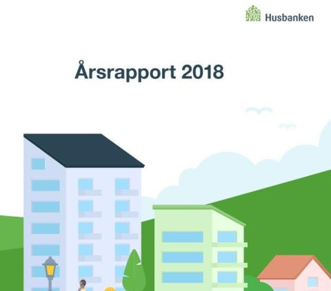 Husbankens årsrapport 2018: 9,2 milliarder kroner i startlån fra kommunene i fjor