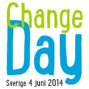 Det är en månad kvar till Change Day Sverige. Lämna ditt löfte nu!