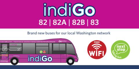 Brand new buses for services 82, 82A, 82B and 83