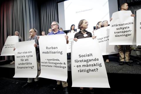 Stora sociala företagsdagen - Sveriges största arrangemang kring socialt företagande
