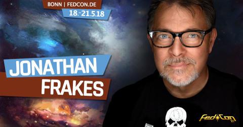 Jonathan Frakes (William Riker aus Star Trek: The Next Generation) kommt zur FedCon 2018