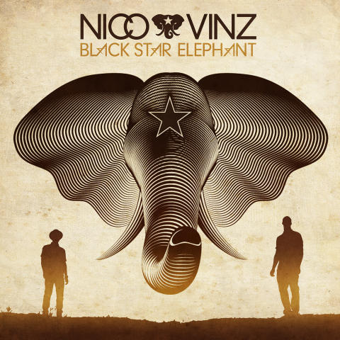 """Nico & Vinz -  det længe ventede debutalbum """"Black Star Elephant"""" kan pre-streames eksklusivt på Spotify fra i dag"""