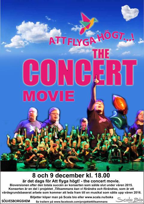 Att flyga högt - the concert movie