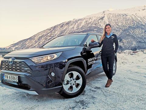 Folke-SUVen RAV4 er klar for lansering i Narvik