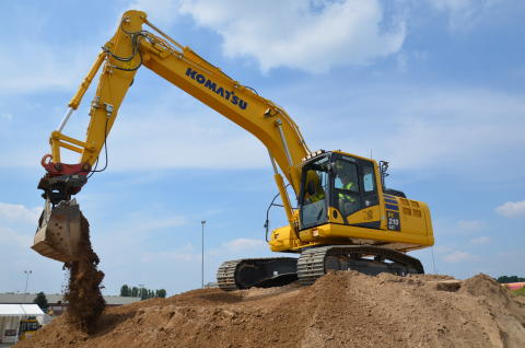 ​Komatsu chooses BT for its global IT infrastructure