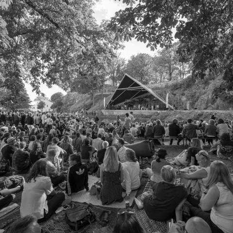 Publikum Karpedammen 130817 Oslo Jazzfestival
