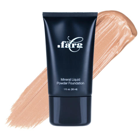 Mineral Liquid Powder Foundation - Pale Beige