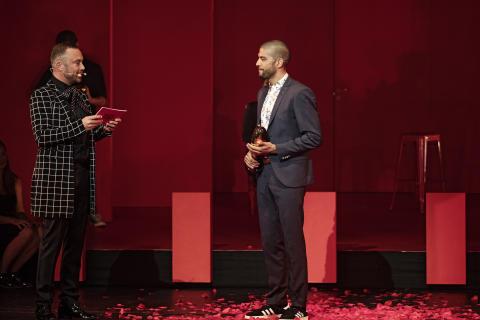 Talentprismodtager: skuespiller Alvin Olid Bursøe