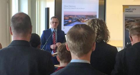 Hammarby Sjöstad som exportplattform – Smart City Sweden