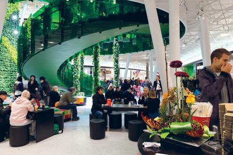 Emporia interiör grön