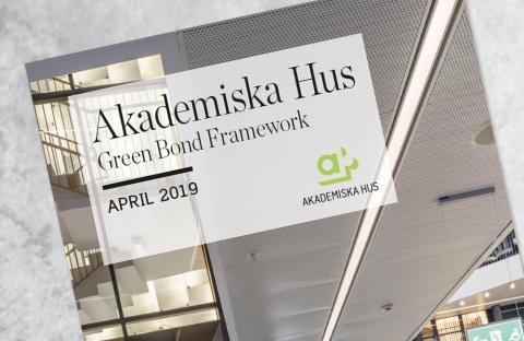 Akademiska Hus emitterar grön obligation