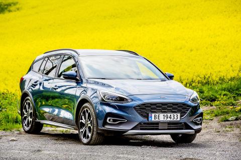 Den nye crossoveren Focus Active - som skapt for Norge