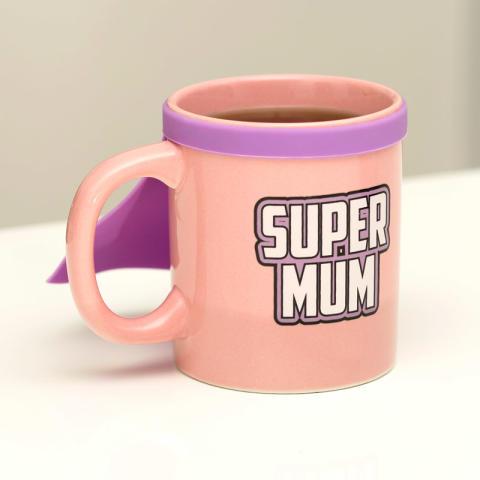 Mugg med cape - Super Mum - 1