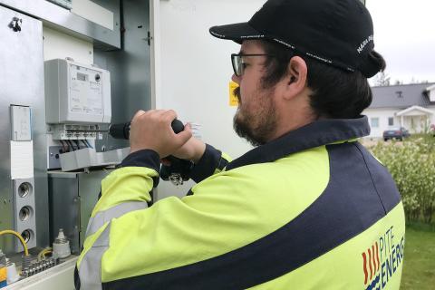 PiteEnergi byter till nya och bättre elmätare