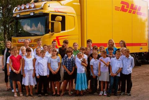 Succé för DHL:s Global Volunteer Day