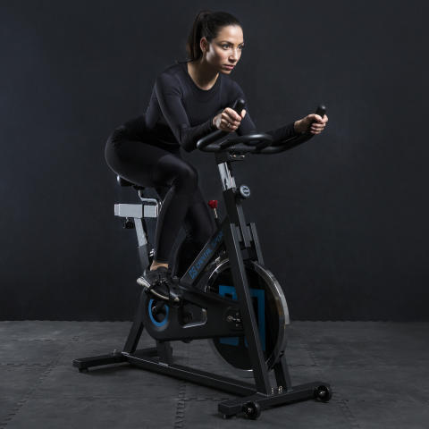 Spinnado X13 Indoor Bike 10032048 black ambiente