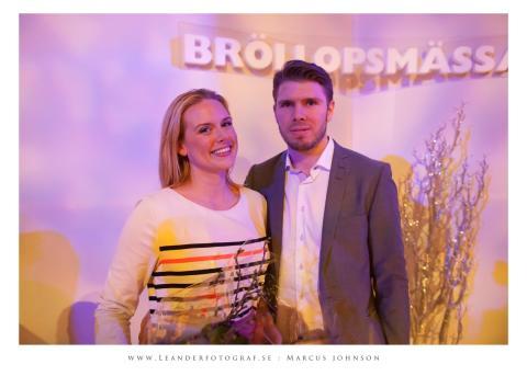 Årets Bröllopspar i Guldhärtat 2013: Therese & Daniel Lindqvist, Malmö