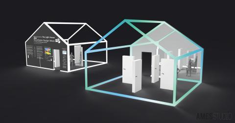 Designgruppen Ames Studio skapar interaktiv ljusinstallation i Kungsträdgården för Stockholm Design Week