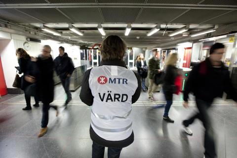 Kundservicevärd MTR Stockholm