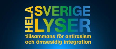 Umeå lyser mot rasism 30 november