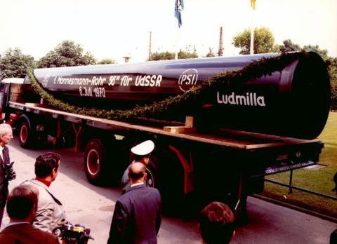 Erdgas-Röhren-Vertrag wird 50 Jahre alt