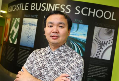 Professor Yu Xiong of Newcastle Business School