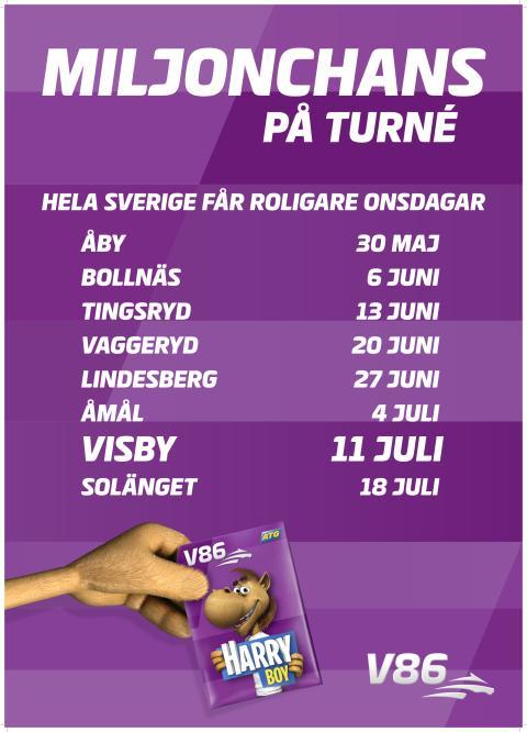 V86 drar vidare till Visby