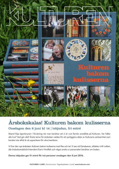 Välkommen på årsbokskalas på Kulturen i Lund!