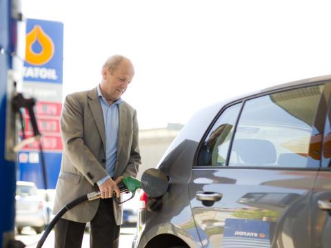 Stölderna av drivmedel har minskat med 80 % på Statoils automatstationer