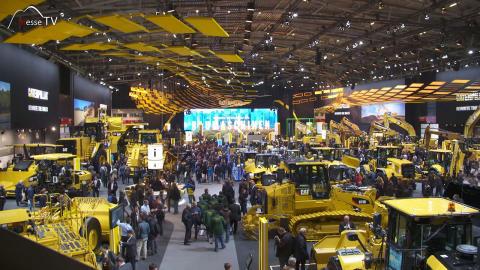 Caterpillar Baumaschinen bauma Messe München