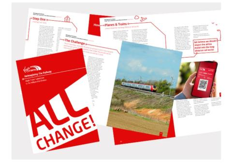 Radical proposals unveiled by Virgin Trains to reform rail by importing airline model