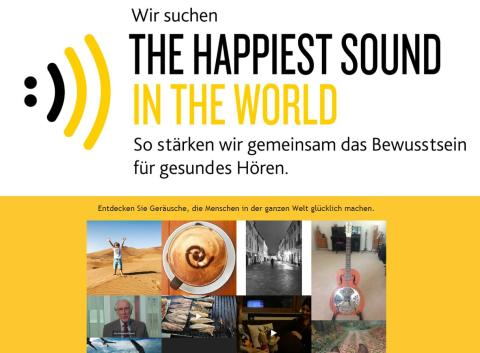 WIR SUCHEN THE HAPPIEST SOUND IN THE WORLD
