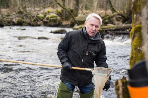 Årets våtmarksstipendiat Lennart Henrikson