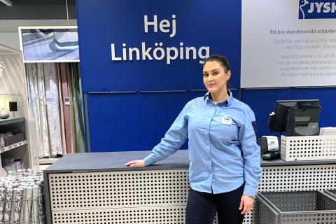 Nu öppnar JYSK en andra butik i Linköping